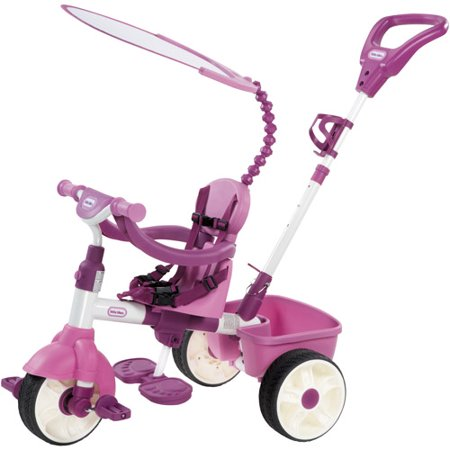 Little tikes 4 in 1 basic edition trike pink for Little tikes 8 in 1