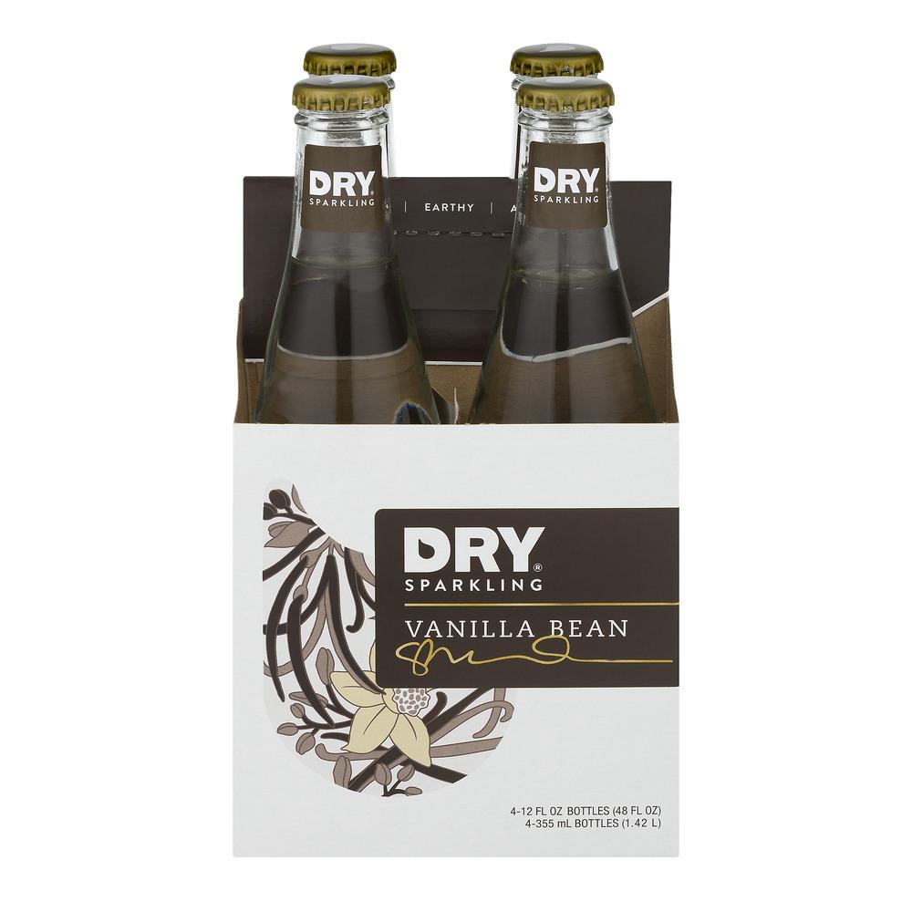 DRY Sparkling Vanilla Bean - 4 PK, 12.0 FL OZ