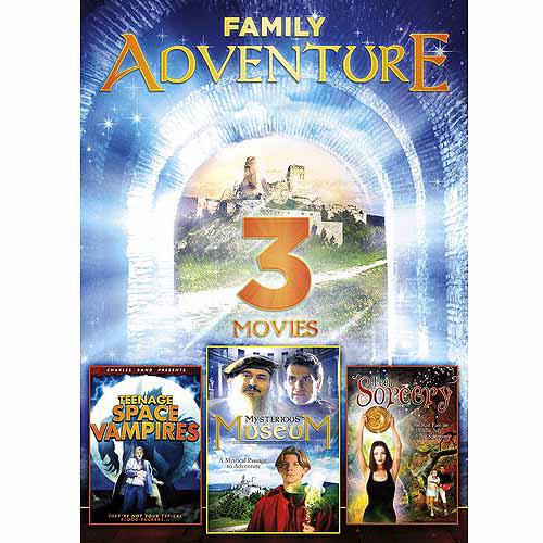 3-Movie Family Adventure: Mysterious Museum   Teen Sorcery   Teenage Space Vampires by