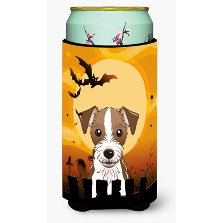 Halloween Jack Russell Terrier Tall Boy Beverage Insulator Hugger BB1760TBC - Chris Russell Halloween