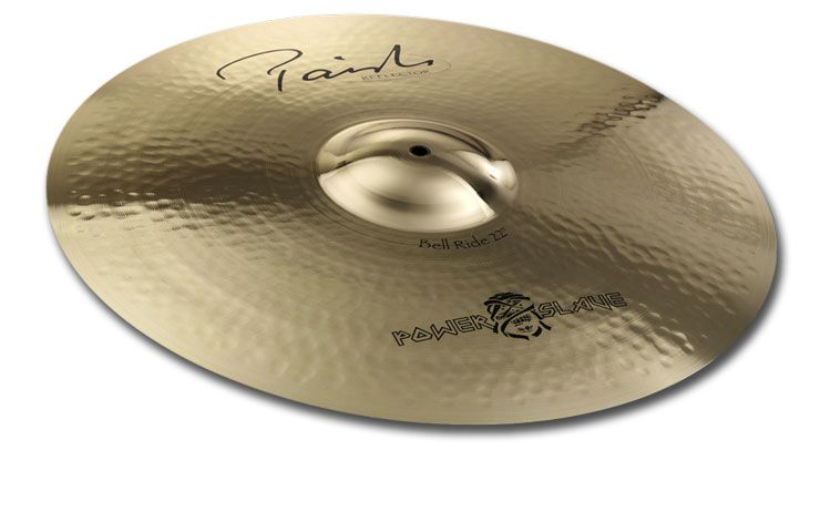 "Paiste 4055622 Signature Series 22"" Reflector Bell Ride Cymbal With Long Sustain by"
