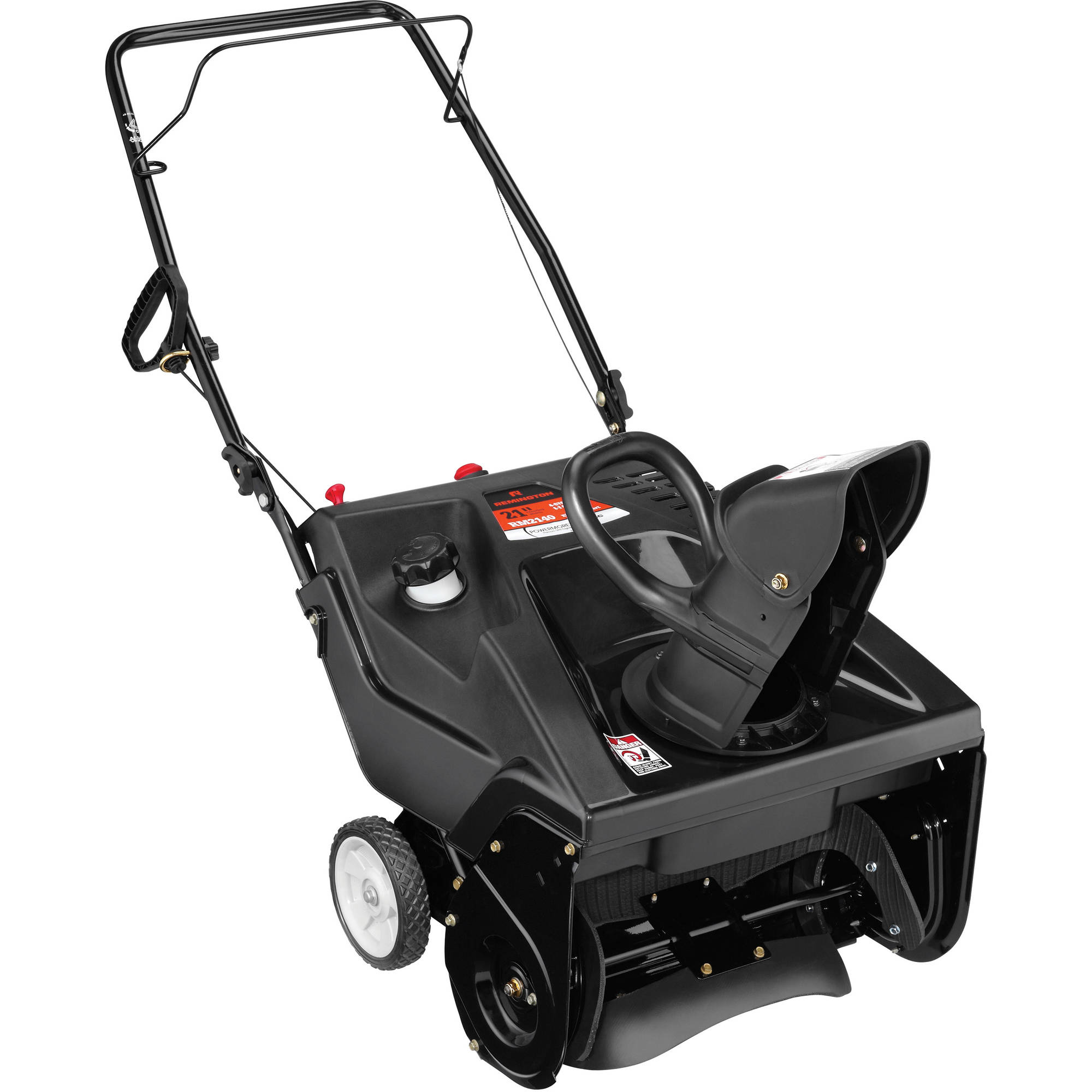 "Remington 21"" 179cc Single-Stage Snow Blower with Electric Start"