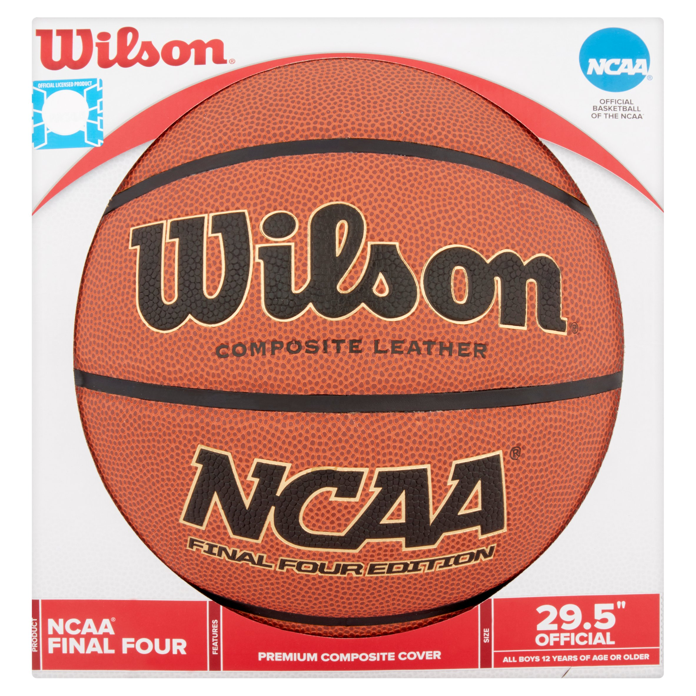 "Wilson NCAA Final 4 Edition Basketball 29.5"" by Wilson Sporting Goods Co."