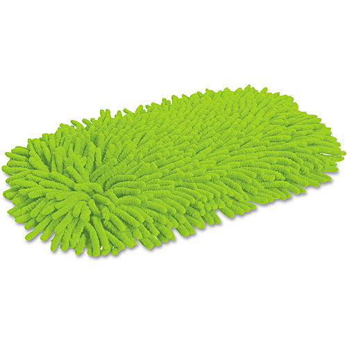 Quickie Green Cleaning Soft & Swivel Green Microfiber/Chenille Dust Mop Refill