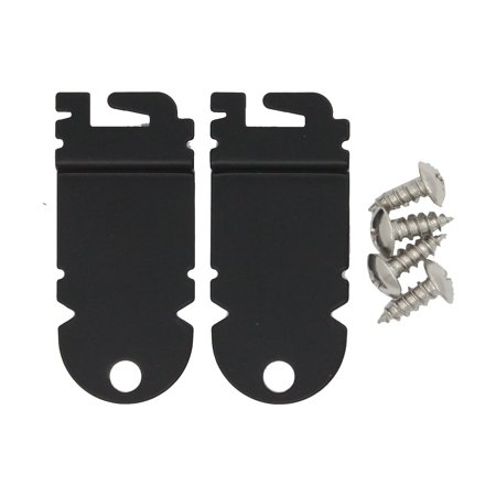 8212560 & 8269145 Mounting Bracket Replacement Kit With Screw Replacement for KitchenAid KUDC10FXBL0 Dishwasher - Compatible with WP8269145 & 8212560 Undercounter Dishwasher Mounting Bracket - image 1 of 4