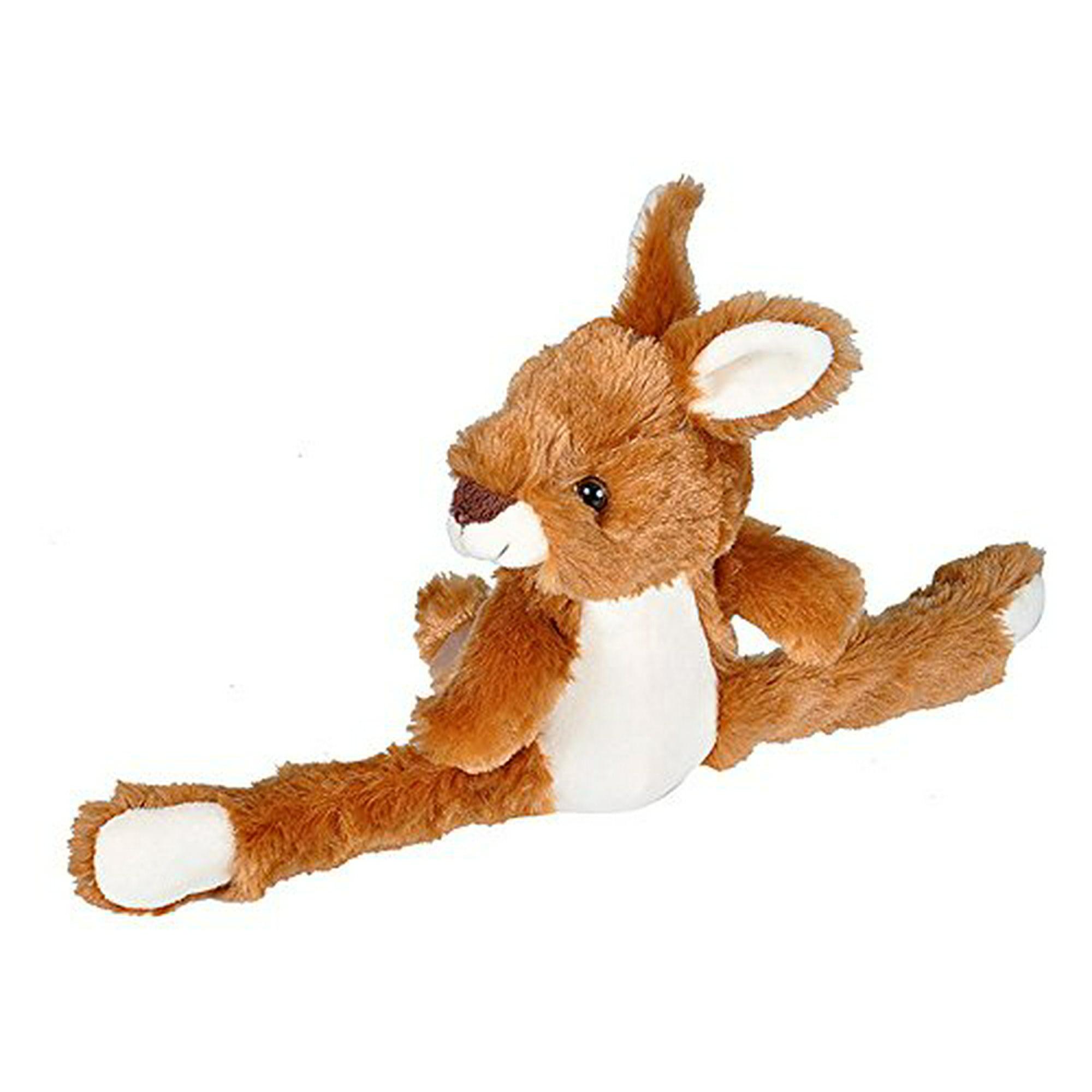Best Stuffed Animals For Boy, Wild Republic Huggers Kangaroo Plush Toy Slap Bracelet Stuffed Animal Kids Toys 8 Inches Walmart Canada