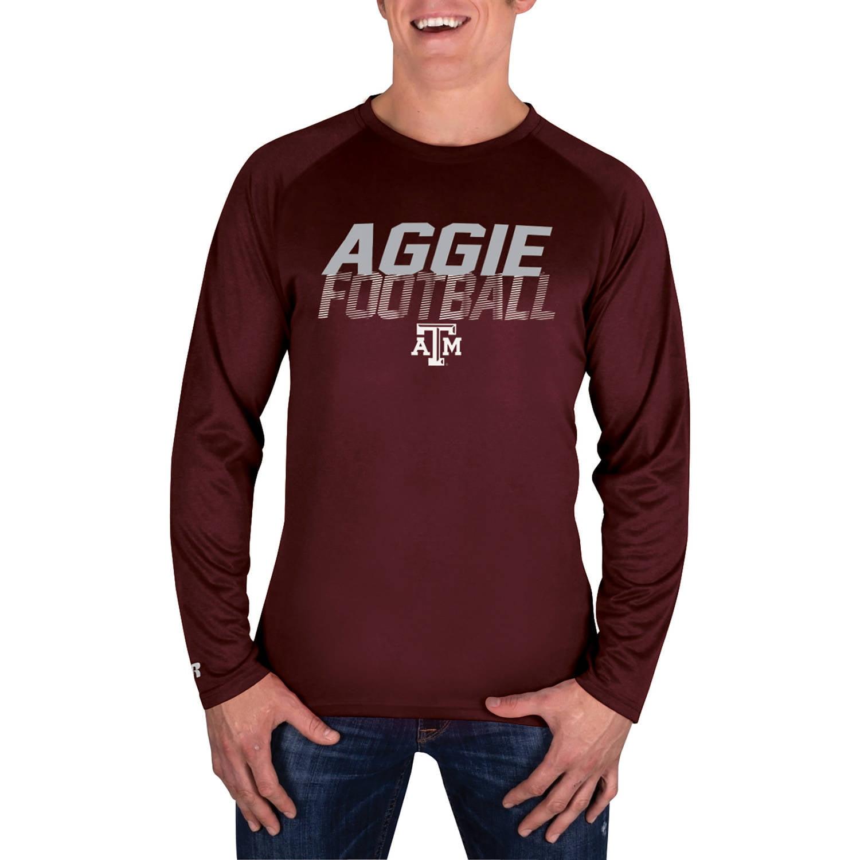 NCAA Texas A&M Aggies Men's Long Sleeve Impact T-Shirt