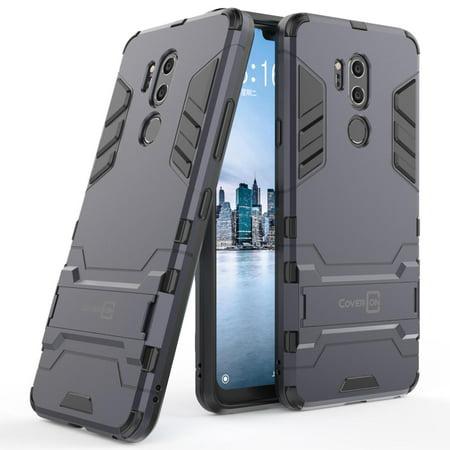 CoverON LG G7 ThinQ Case, Shadow Armor Series Hybrid Kickstand Phone Cover