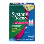 Systane Ultra Eye Drops Lubricant High Performance, 0.14 FL OZ