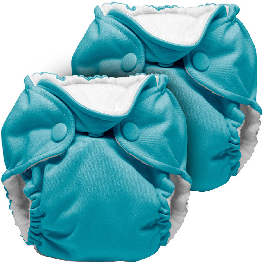 Kanga Care Lil Joey Newborn All in One Cloth Diapers, 2 count