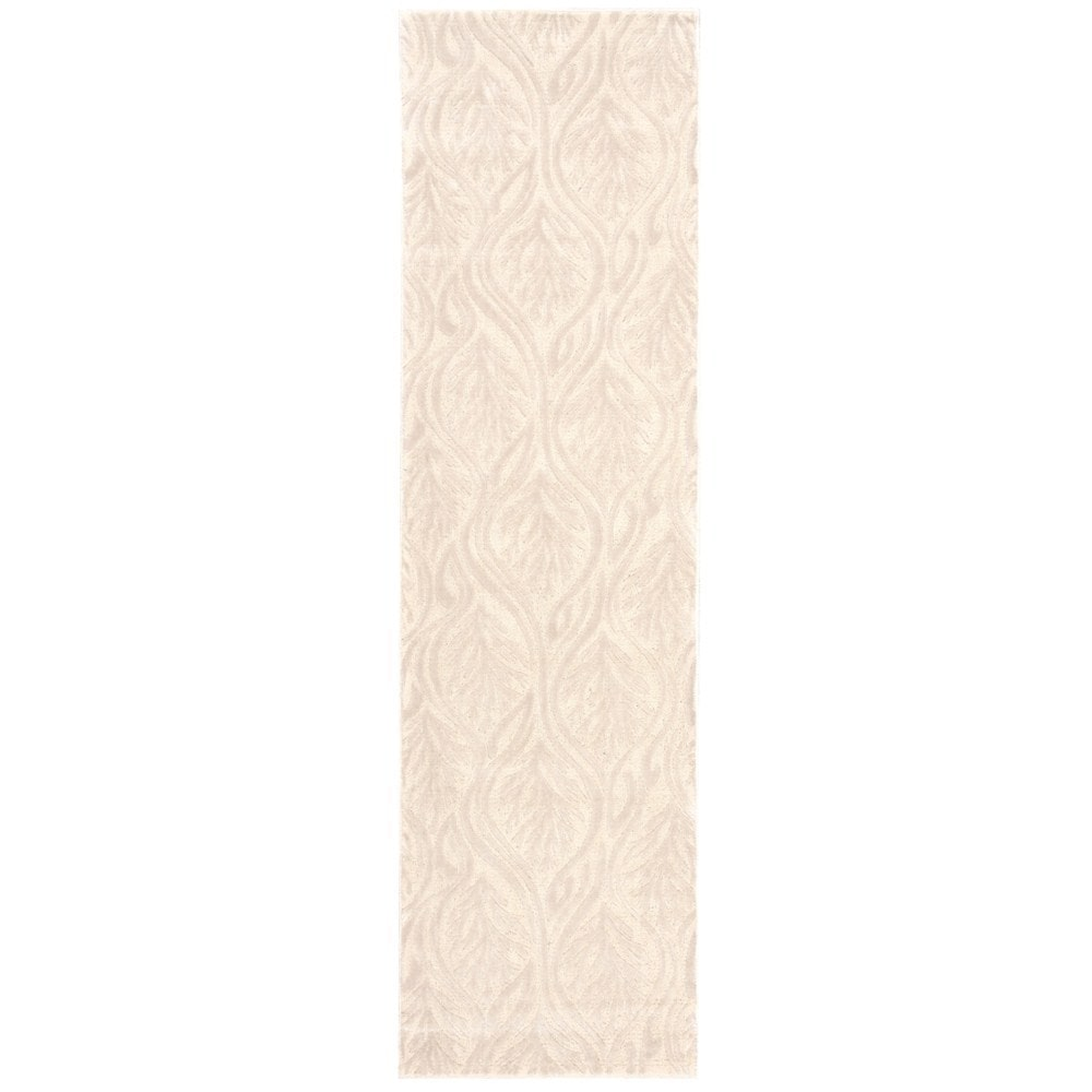 Nourison kathy ireland Hollywood Shimmer Aloha Paradise Cove Bisque Area Rug by (2'3 x 8') by Overstock
