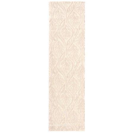 Nourison kathy ireland Hollywood Shimmer Aloha Paradise Cove Bisque Area Rug by (2'3 x 8')