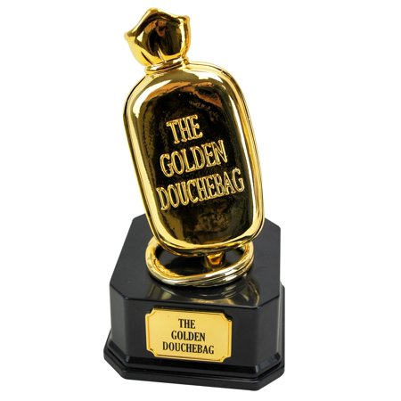 Big Mouth Toys The Golden Douchebag Trophy