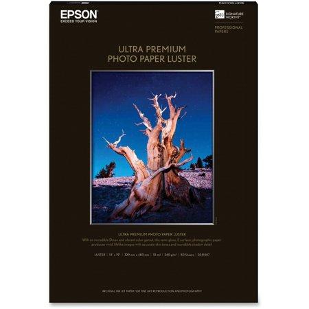 Epson S041407 PREMIUM LUSTER PHOTO PAPER 13 X 19 S041407 PREMIUM LUSTER PHOTO PAPER 13 X 19