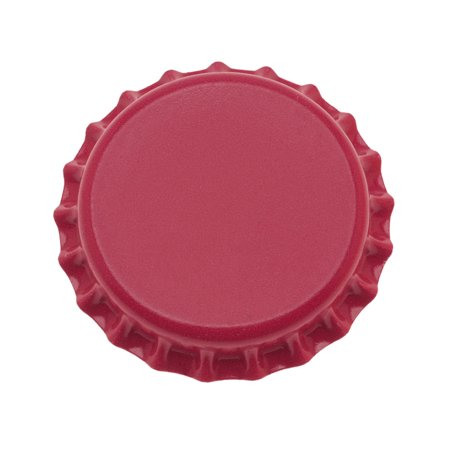 New Red Crown Bottle Caps Craft Scrapbooking Jewelry No Liners (50)