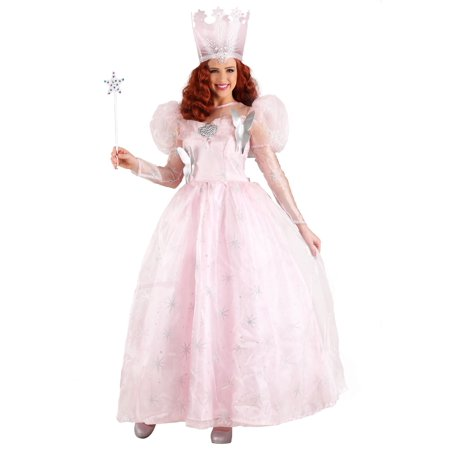 Good Halloween Costumes For 3 Friends (Plus Size Adult Glinda the Good Witch Deluxe)