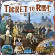 ASMODEE France And The Old West Ticket To Ride Board Game
