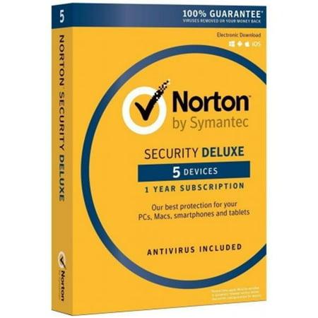 Symantec 21353874 Norton Security Deluxe   5 Devices