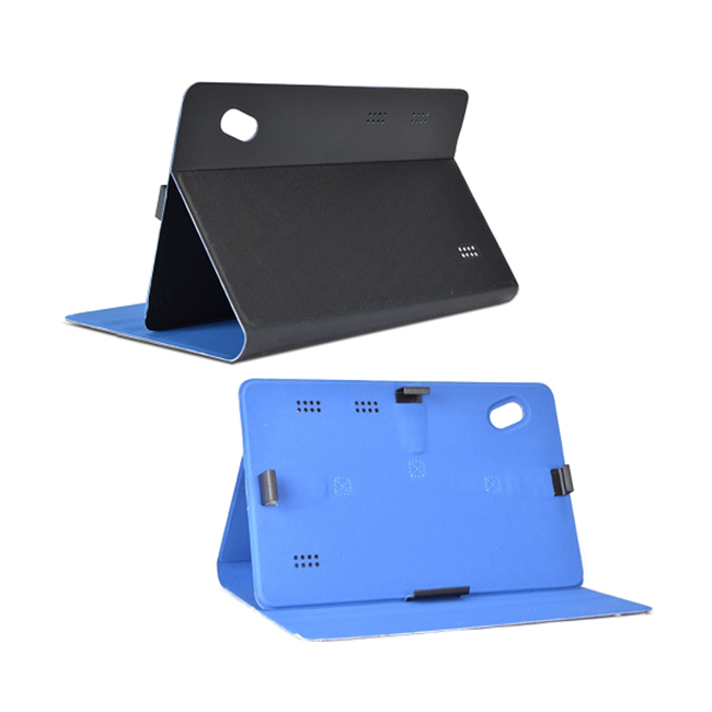 "Trio G4 4-in1 Leather Case & Stand 10.1"" Tablet Accessory Kit w/Faux & Stylus"