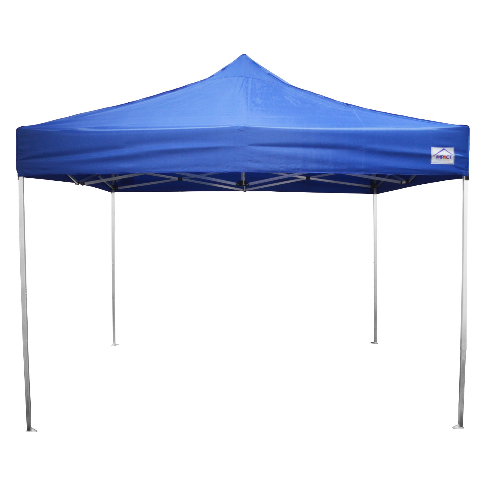 Impact Canopy 10 x 10 ft. Ultra Lite Pop Up Canopy with Roller Bag Royal Blue - 040030003