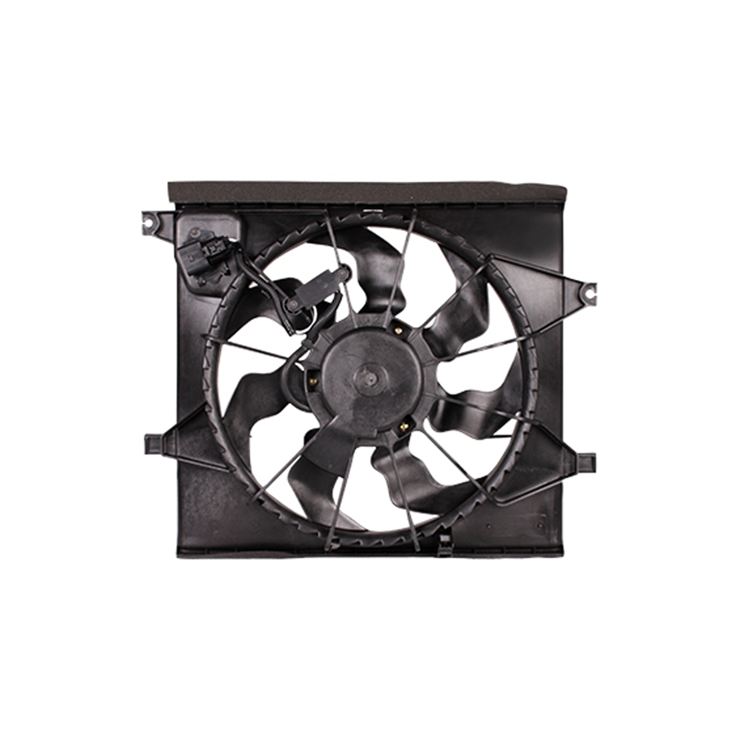 CPP Replacement Engine Cooling Fan Assembly KI3115128 for 2010-2011 Kia Soul