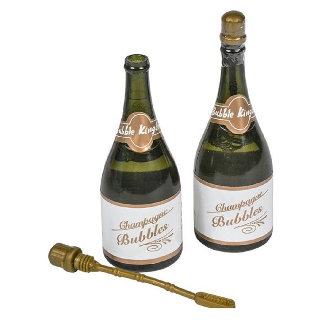 96 champagne bottles wedding bubbles new years eve graduation party favors image 3 of 4