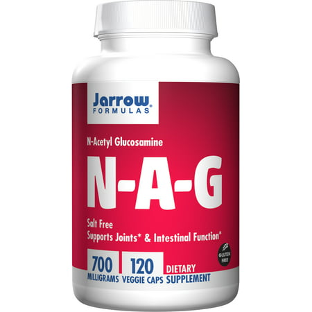 2 Joint Support Formula - Jarrow Formulas N-A-G 700 mg, Supports Joints & Intestinal Function, 120 Veggie Caps