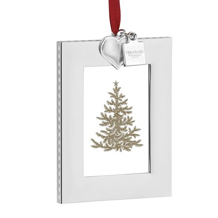 2016 Vera Wang Holiday Frame Vera Heart, Made from Silver Plate By Wedgwood