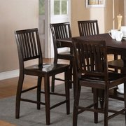 Steve Silver Company Candice Counter Height Dining Chair in Dark Espresso (set of 2)