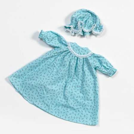 Handmade Eli & Mattie Amish-Made Nightgown and Cap for 18
