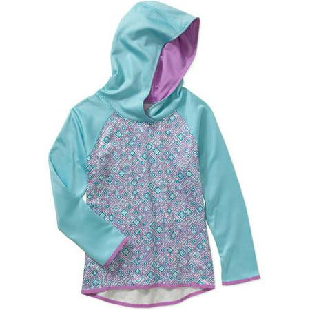 0c75a5367 Danskin Now - Girls' Tech Fleece Hoodie - Walmart.com
