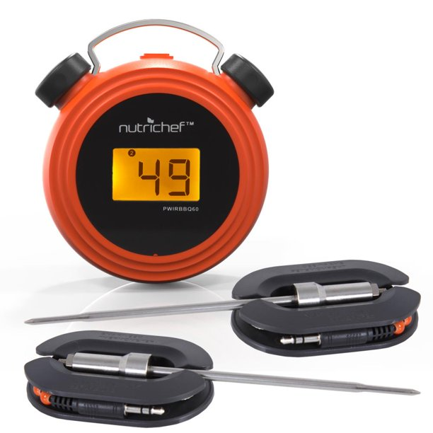 NutriChef PWIRBBQ60 - Smart Bluetooth BBQ Grill ...