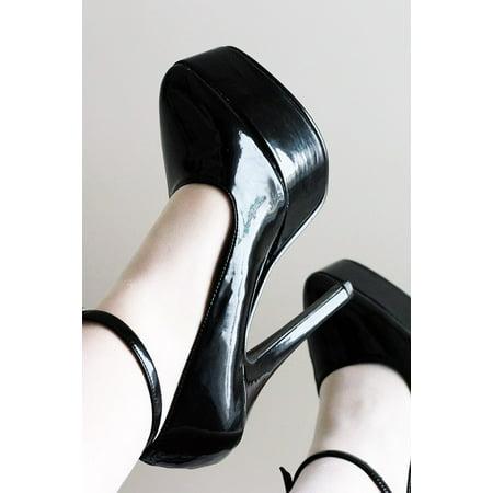 Laminated Poster Shoes Footwear Stiletto Fetish High Heel Heel Poster Print 24 x 36