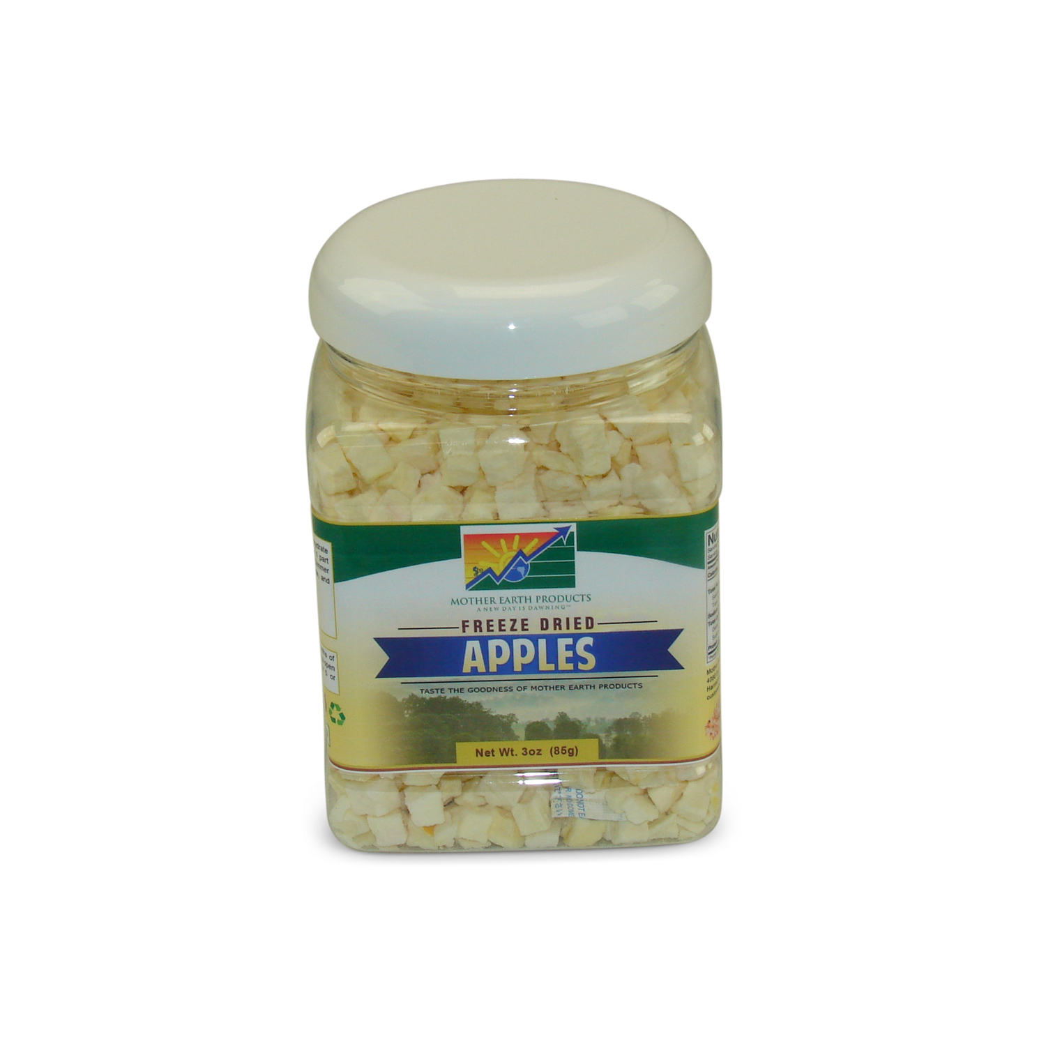 Mother Earth Products Freeze Dried Apples, jar by Mother Earth Products