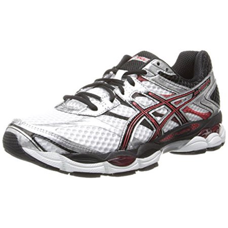 ASICS Men's Gel Cumulus 16 Running Shoe,WhiteBlackRed,10 M US