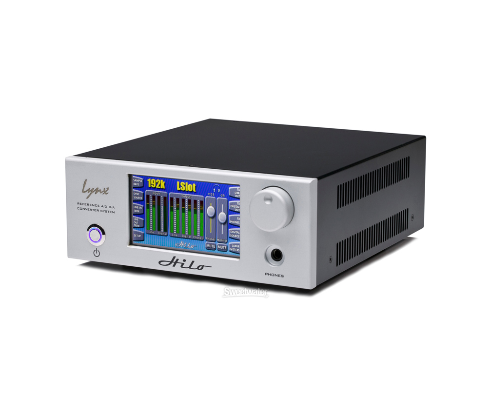 Lynx Hilo Reference A D D A Converter Silver by Lynx
