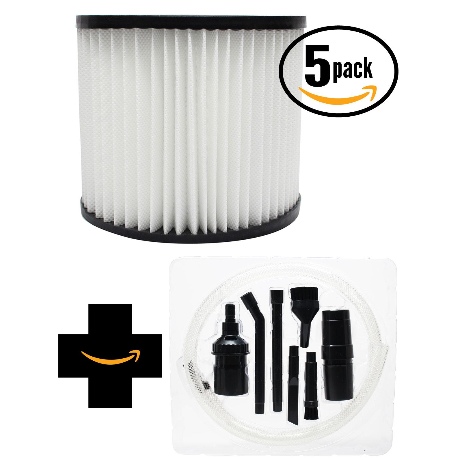 UpStart 5-Pack Replacement Shop-Vac Back Pack SP650C Vacu...