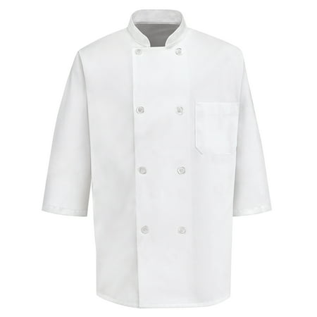 Men's ½ Sleeve Chef Coat (Chefs Coat)