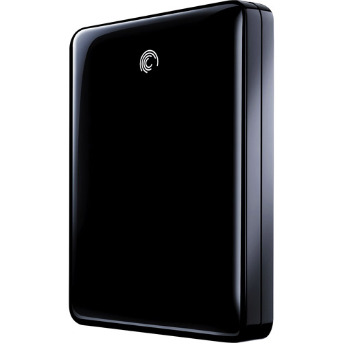 Seagate FreeAgent GoFlex 1TB USB 3.0 Ultra-Portable External Hard Drive, Black by Seagate