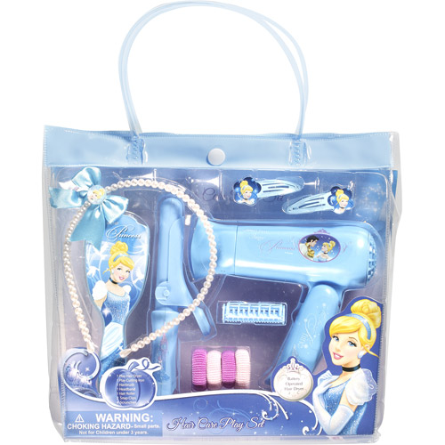 Disney Princess Cinderella Hair Care Play Set, 11 pc