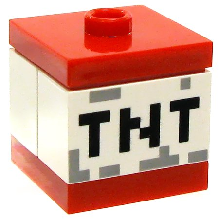 LEGO Minecraft TNT Block Accessory [Loose]