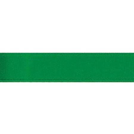 Darice Basic Expressions Ribbon Satin Fresh Green 0.625 Inch X 8 Yards
