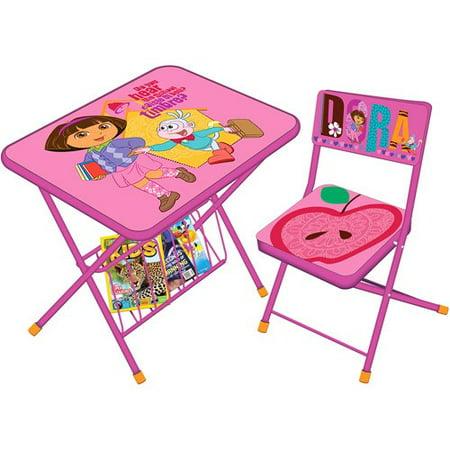 Disney Disney Activity Desk Chair Dora Walmart Com