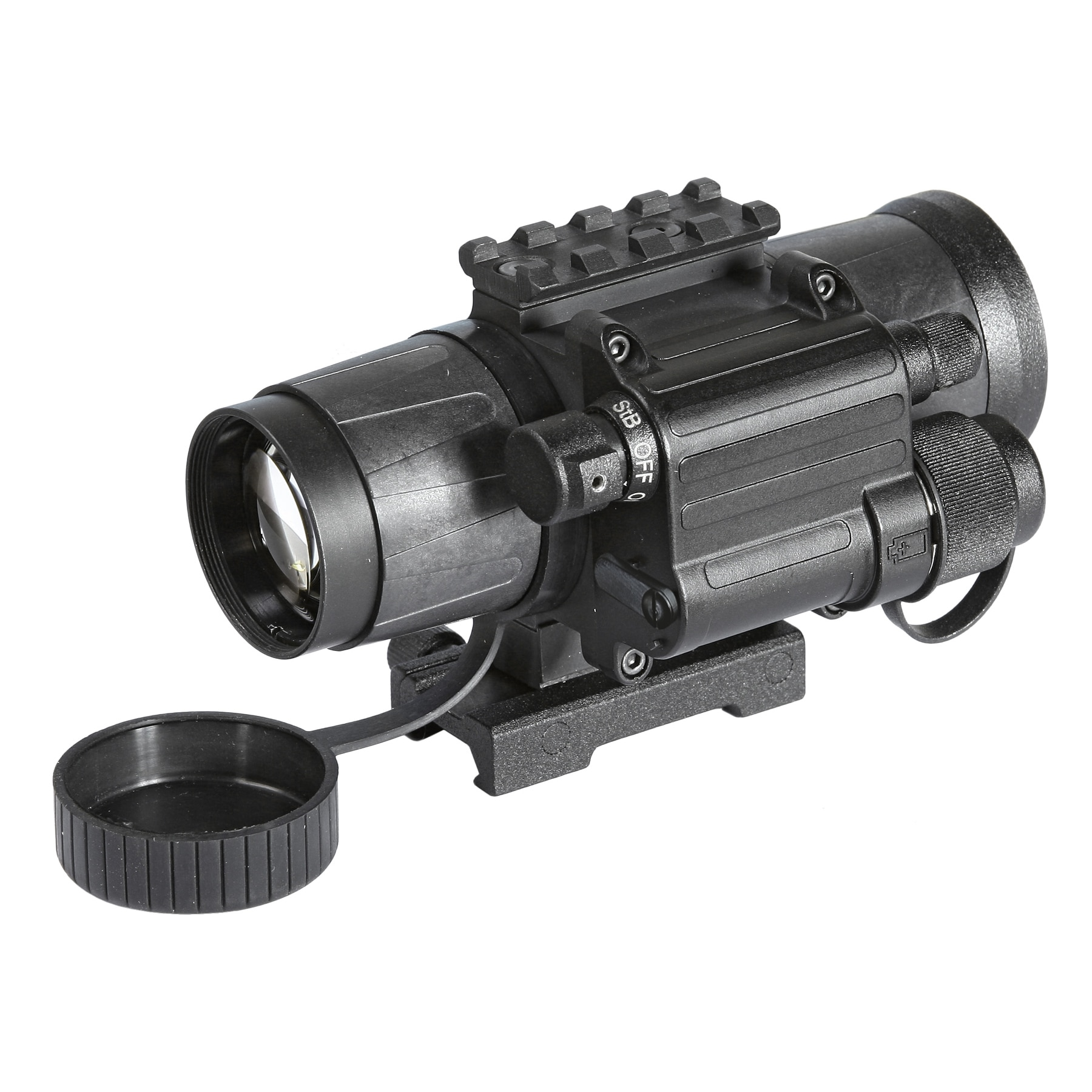 Armasight CO-Mini-3 Alpha MG Night Vision Mini Clip-On System with Manual Gain control Gen 3 Alpha Grade, 64-72 lp mm IIT by Overstock