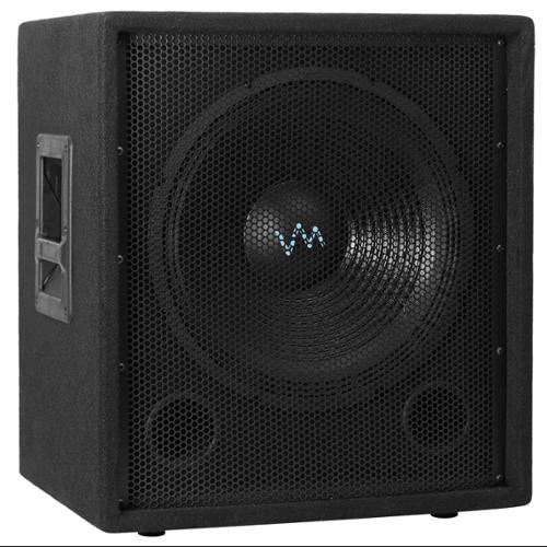 "VM Audio VAS15SUB 15"" 1500 Watt Passive Sub DJ Speaker Pro Subwoofer"