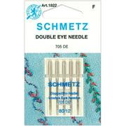 Schmetz Needle Double Eye Size 80/12 (pack of 5)