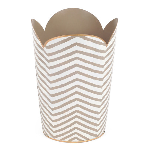 Malabar Bay, LLC Kenya Tululip 2.3 Gallon Waste Basket