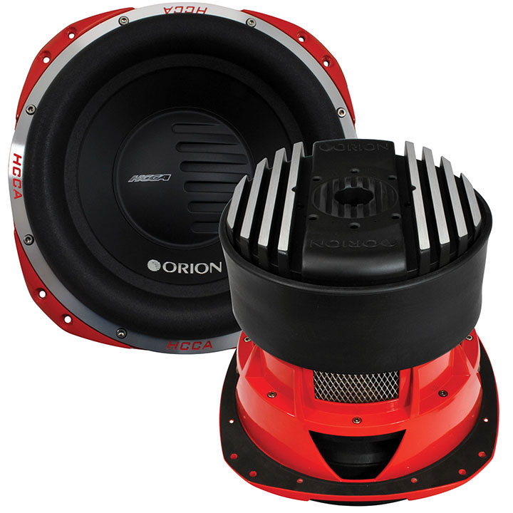 "Orion HCCA124 Hcca 12"" Woofer Dual Voice Coil 2500w Rms"