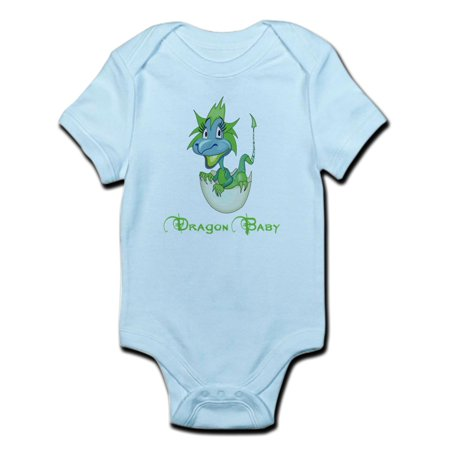 CafePress - Dragon Baby Infant Bodysuit - Baby Light Bodysuit (Baby Dragon Girl)