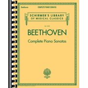 Beethoven - Complete Piano Sonatas : Schirmer's Library of Musical Classics Vol. 2103